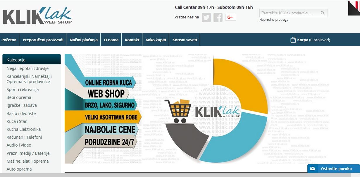 kliklak-online-prodavnica
